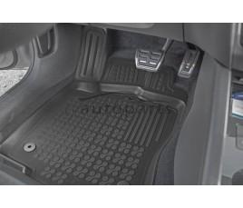 Koberce gumové se zvýšeným okrajem VW Golf VI od 2008 - 2012