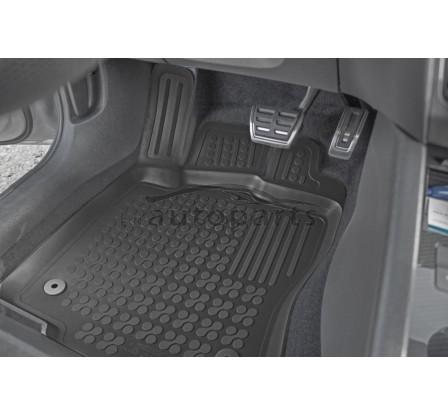 Koberce gumové se zvýšeným okrajem VW Touran II 2010 - 2014