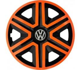 "Poklice na auto VW 14"" Action - duocolor orange"