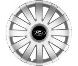 """Poklice kompatibilné na auto Ford 14"""" AGAT silver"""