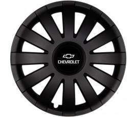 "Poklice kompatibilné na auto Chevrolet 14"" AGAT černé"