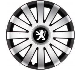 """Poklice kompatibilné na auto Peugeot 15"""" AGAT CS"""