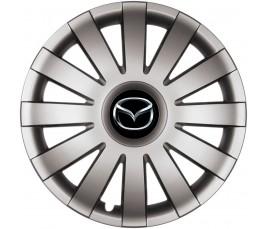 "Poklice kompatibilné na auto Mazda 13"" AGAT grafitové"