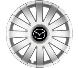 "Poklice kompatibilné na auto Mazda 13"" AGAT silver"